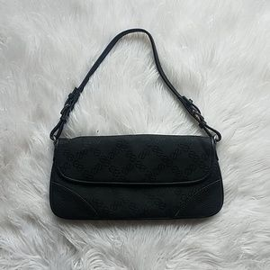 Vintage Express Purse Handbag Black Logo